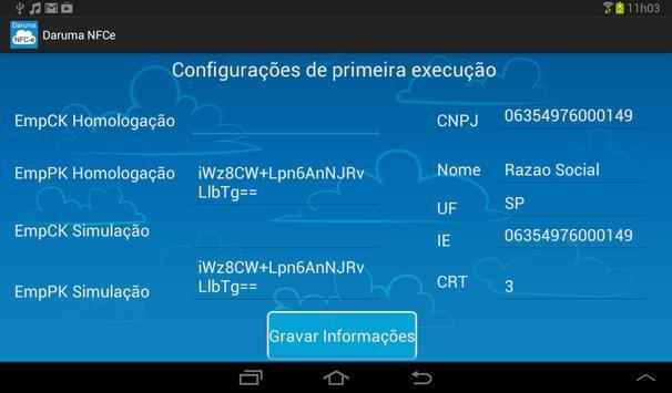 Daruma NFCe (versão tablet) screenshot 4