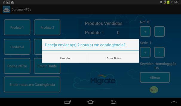 Daruma NFCe (versão tablet) screenshot 7