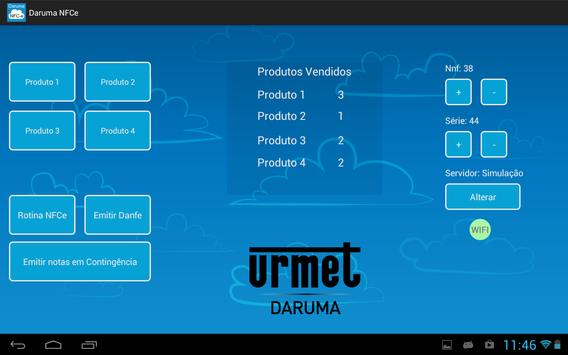 Daruma NFCe (versão tablet) screenshot 2