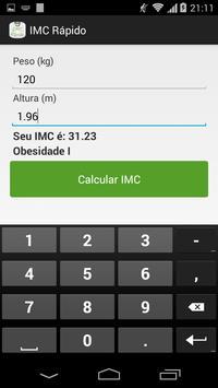 IMC Rápido screenshot 4