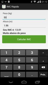 IMC Rápido screenshot 5