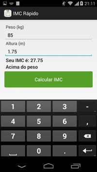 IMC Rápido screenshot 3