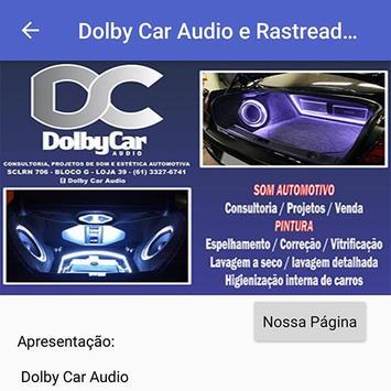 Dolby Car Audio e Rastreadores screenshot 5