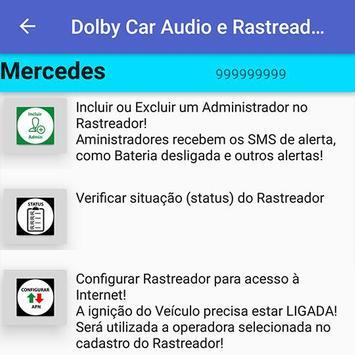 Dolby Car Audio e Rastreadores screenshot 6