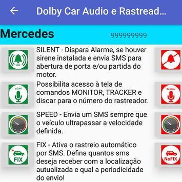 Dolby Car Audio e Rastreadores screenshot 7