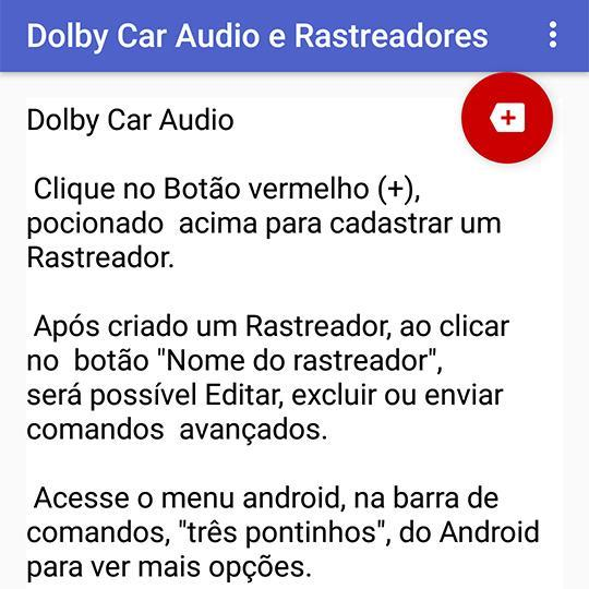 Dolby Car Audio e Rastreadores for Android - APK Download