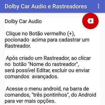 Dolby Car Audio e Rastreadores screenshot 1