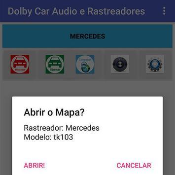 Dolby Car Audio e Rastreadores screenshot 3