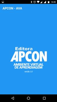 APCON - Ambiente Virtual - AVA poster