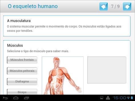 O esqueleto humano apk screenshot
