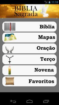A Sagrada Bíblia poster