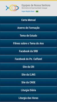 Equipes de Nossa Senhora Super-Região Brasil - ENS poster