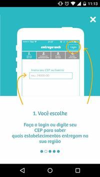 EntregaWeb - Delivery Comida poster