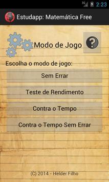 Estudapp Matemática apk screenshot