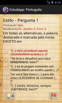 Estudapp Português apk screenshot