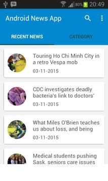 APP Web Jornalismo apk screenshot