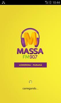 Massa FM Londrina poster