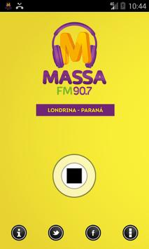Massa FM Londrina apk screenshot