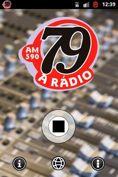 Rádio 79 apk screenshot