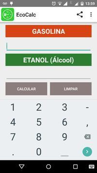 Calcular Combustível - EcoCalc poster
