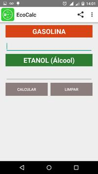 Calcular Combustível - EcoCalc apk screenshot