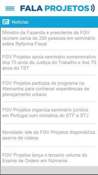Fala Projetos apk screenshot