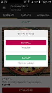 Famosa Pizza - Delivery Online apk screenshot