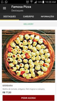Famosa Pizza - Delivery Online screenshot 2