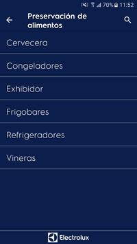 Electrolux - Catálogo de Productos PUB apk screenshot