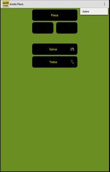 Anota Placa apk screenshot