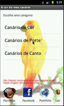 The color of my canary apk screenshot