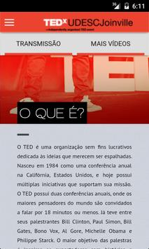 TEDxUDESCJoinville screenshot 1