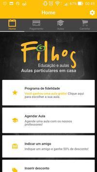 Filhosweb screenshot 1
