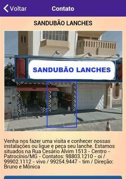Sandubão Lanches screenshot 5