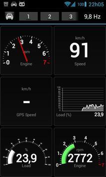 OBD Dashboard (Free) screenshot 1