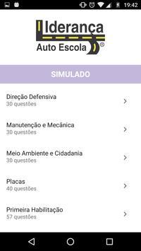 Auto Escola Liderança MS apk screenshot