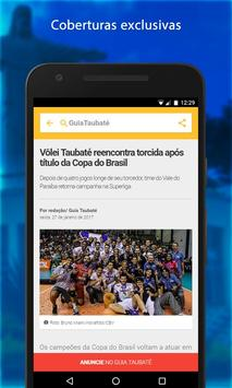 Guia Taubaté apk screenshot