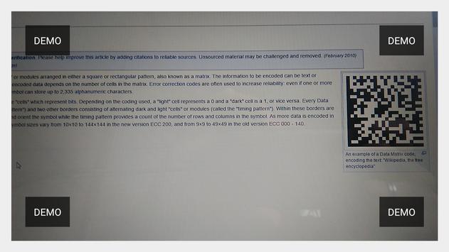Leitor de Código Barras - API apk screenshot