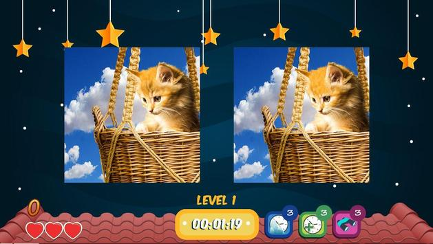 Find The Five Differences Cats Edition apk screenshot
