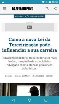 Gazeta do Povo Mobile apk screenshot