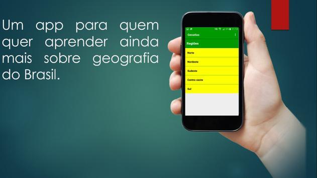 GeoAtlas - Geografia do Brasil poster
