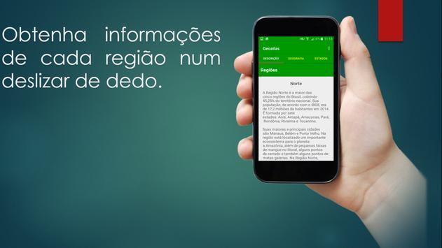 GeoAtlas - Geografia do Brasil apk screenshot