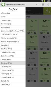 Figurinhas - Brasileirão 2014 screenshot 11