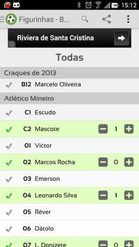 Figurinhas - Brasileirão 2014 screenshot 1