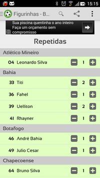 Figurinhas - Brasileirão 2014 screenshot 3