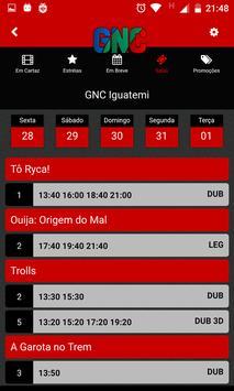 GNC Cinemas apk screenshot