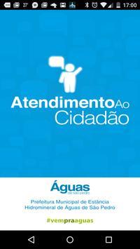 Atendimento ao Cidadão - Aguas poster