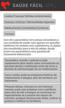 Saúde Fácil screenshot 4