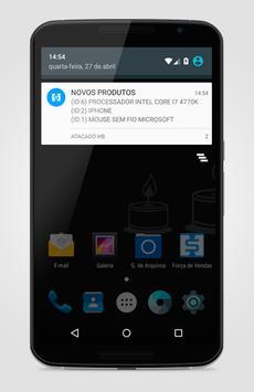 FORÇA DE VENDAS apk screenshot