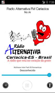 Radio Alternativa FM Cariacica apk screenshot